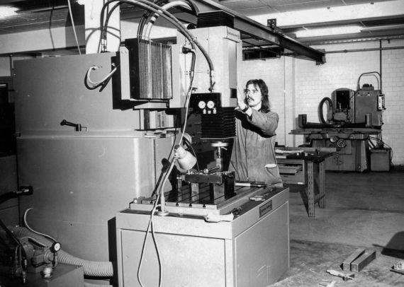 Production at Dallmer in the 1970s
